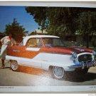 1962 AMC Metropolitan ht car print (bronze & white