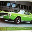 1969 AMC AMX car print (green)