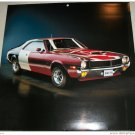 1970 AMC Javelin TA ht car print (red, white & blue)