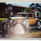 1930 Buick Special Coupe car print (yellow & black)