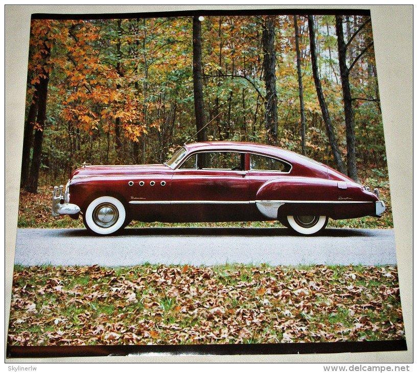 Buick Full Size Car: 1949 Buick 2 Dr Sedan Car Print (maroon