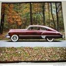 1949 Buick 2 dr Sedan car print (maroon)