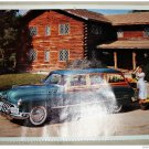 1950 Buick Super Estate Station Wagon car print (green & wood)