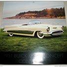 1951 Buick XP300 Convertible car print (white, no top)