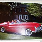 1953 Buick Skylark Convertible car print (red, no top)