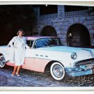 1956 Buick Riviera 2 dr Ht car print (pink & white)