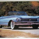 1960 Buick LeSabra Convertible car print (blue, no top)