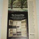 1980 Amana Ice N Winter Refrigerator ad