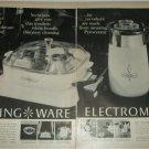 Corning Ware Electromatic Skillet ad