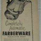 1951 Farberware Percolator Robot ad