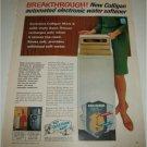 1967 Culligan Water Softener ad