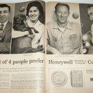 1962 Honeywell Controls ad