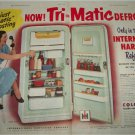 1952 International Harvester Refrigerators ad