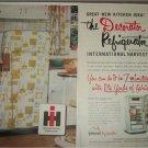 1953 International Harvester Refrigerators ad
