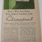1946 Climatrol Air Conditioner ad