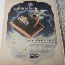 1956 Counselor Bath Scale ad