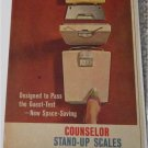 1951 Counselor Stand Up Scale ad