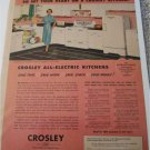 1953 Crosley All Electric Kitchens ad
