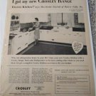 1954 Crosley Kitchen ad