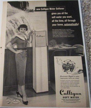 1957 Culligan Water Softner ad #2