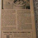 1946 Deepfreeze Freezer ad