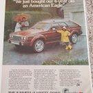 1984 American Motors American Eagle Station Wagon car ad #1