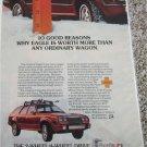 1984 American Motors American Eagle Station Wagon car ad #2
