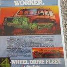 1984 American Motors Jeep Cherokee Sportwagon ad #1