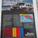 1984 American Motors Jeep Cherokee Sportwagon ad #2