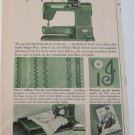 1953 Elna Portable Sewing Machine ad #2