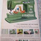 1956 Elna Automatic Sewing Machine ad