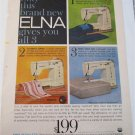 1959 Elna Sewing Machine ad