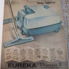 1963 Eureka Princess II Cleaner ad