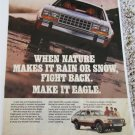 1986 American Motors Eagle station Wagon car ad