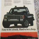 1986 American Motors Jeep Comanche Pickup truck ad #2