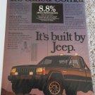1986 American Motors Jeep Comanche Pickup truck ad #4