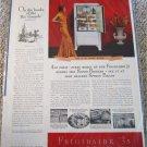 1935 Frigidaire 35 Refrigerator ad #1