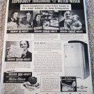 1937 Frigidaire Meter-Miser Refrigerator ad
