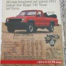 1987 American Motors Jeep Comanche Pickup truck ad #1