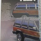 1987 American Motors Jeep Wagoneer ad