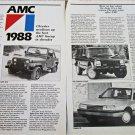1988 American Motors article