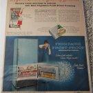 1957 Frigidaire Frost-Proof Refrigerator-Freezer ad