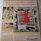 1959 Frigidaire frost Proof Freezer ad