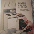 1961 Frigidaire Electric Range ad