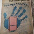 1961 Frigidaire Frost Forbidder Refrigerator ad #2