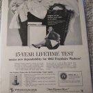 1962 Frigidaire Washers ad