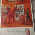 1963 Frigidaire Frost-Proof Refrigerator ad