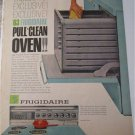 1963 Frigidaire Pull Clean Oven ad