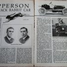 Apperson car article