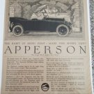 1920 Apperson Eight Touring The Habit Of Being First car ad